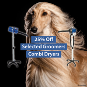 25% Off Selected Groomers Combi Dryers
