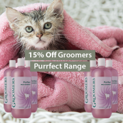 15% Off Groomers Purrfect Range