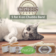 5 For 4 on Chubbs Bars!