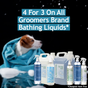 4 For 3 On Groomers Bathing - Online Only!