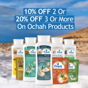 10% Off 2 & 20% Off 3 Or More Ochah Products - Online Only!