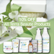 10% Off Terra Beaute Products