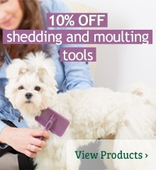 10% OFF shedding and moulting tools