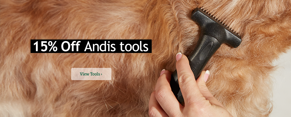 15% Off Andis Tools