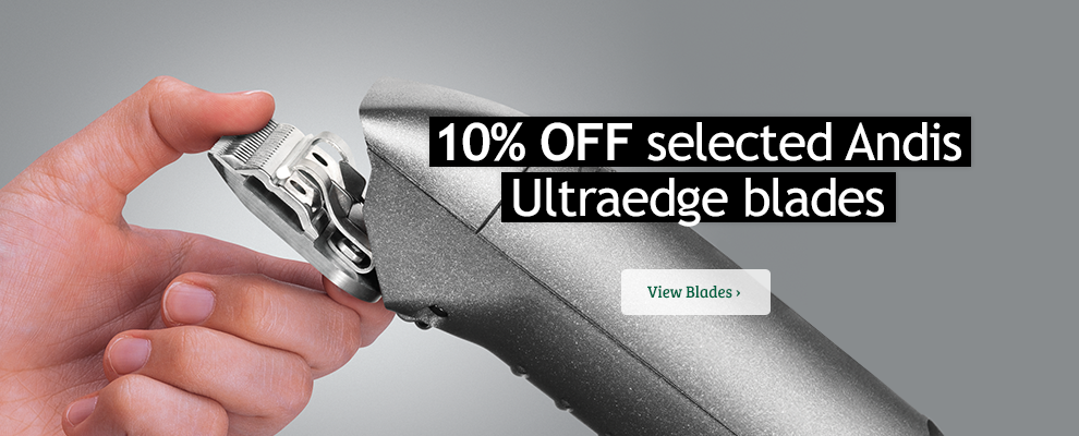 10% off Andis Ultraedge Blades