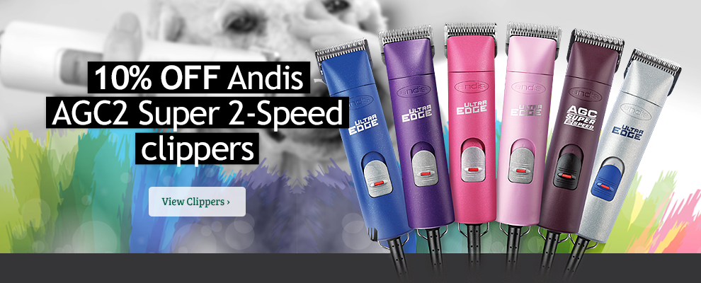 10% off Andis Ultraedge Clippers