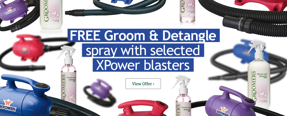 XPower Dryer & Groom and Detangle