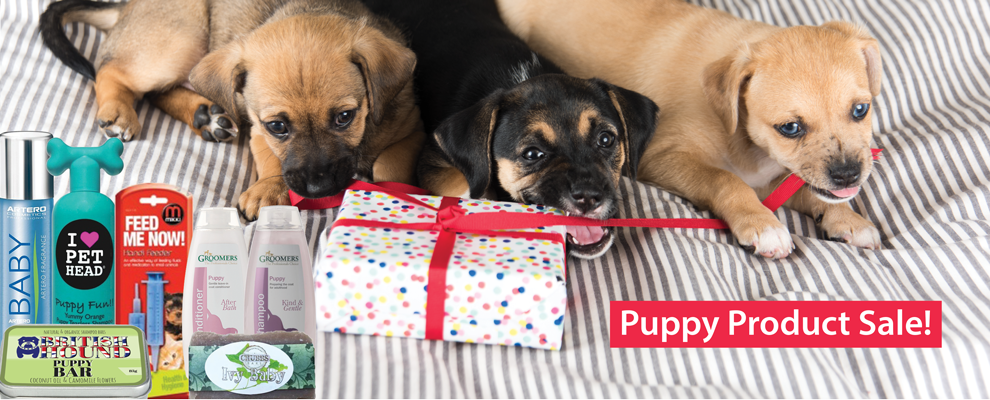 Puppy Product Sale!