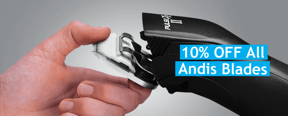 10% Off All Andis Blades