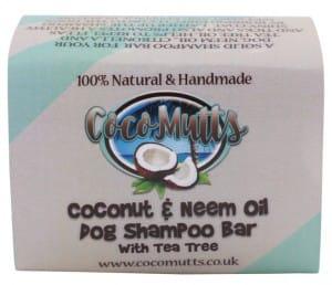 Cocomutts Coconut and Neem Shampoo Bar