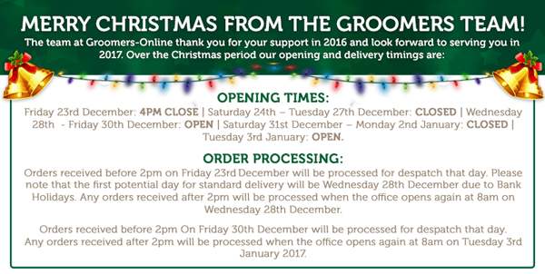 xmas opening times