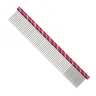 25cm Finishing Comb - Red