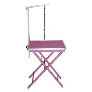 Adjustable Ringside Table - Pink