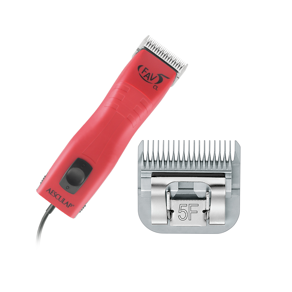 Aesculap FAV5 Hybrid Clipper with FREE #5F Blade