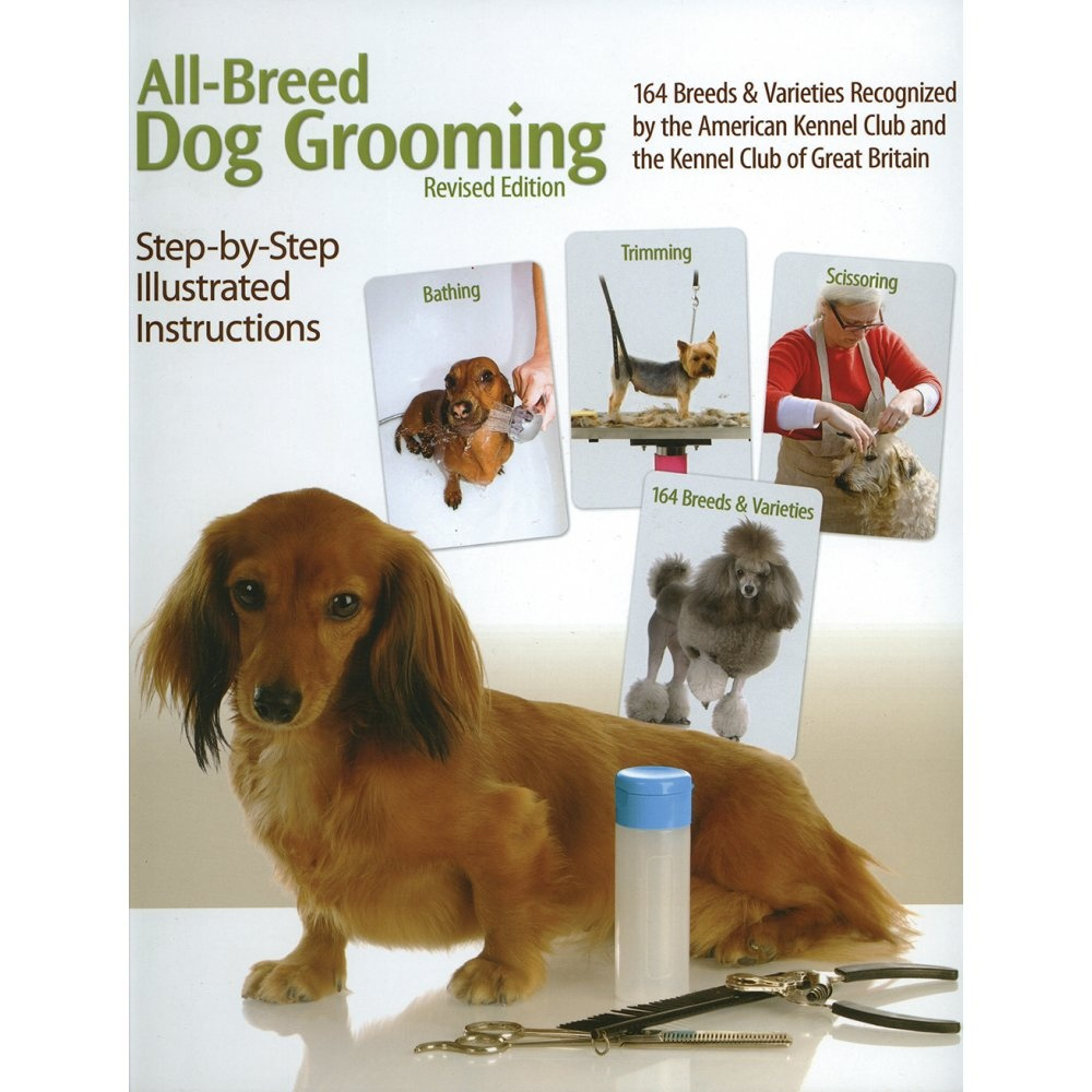 All Breed Dog Grooming Book Professional From Groomers Limited Uk