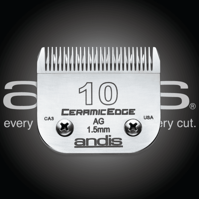 Andis #10 CERAMICEdge Clipper Blade