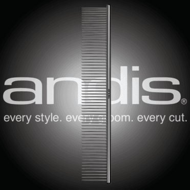 "Andis 10"" Steel Finishing Comb"
