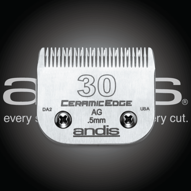 Andis #30 CERAMICEdge Clipper Blade
