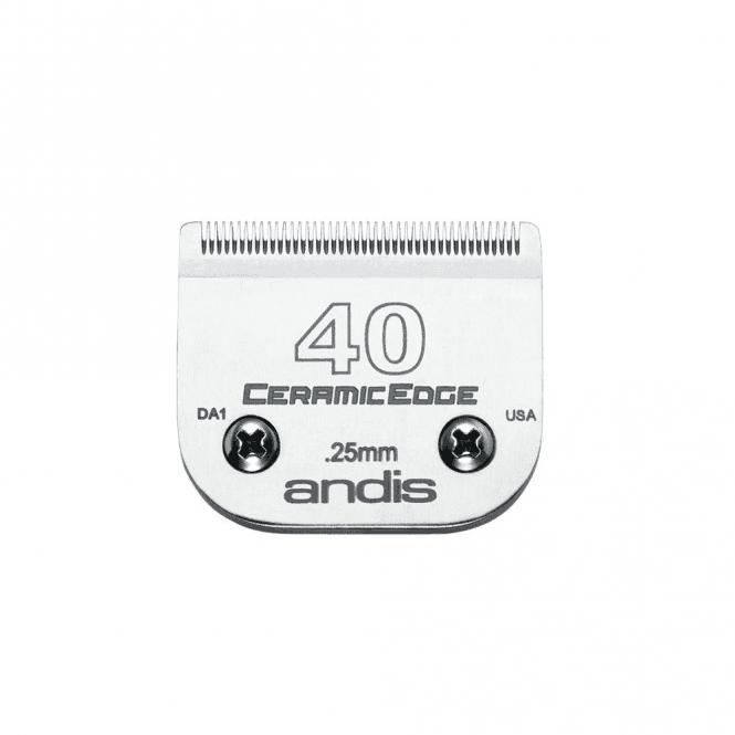 Andis #40 CERAMICEdge Clipper Blade - NEW