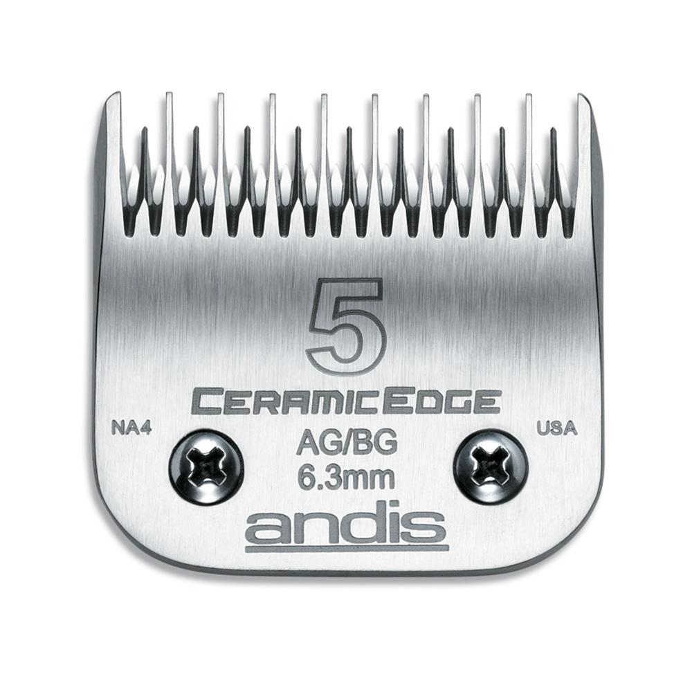 Andis 5 CERAMICEdge Clipper Blade