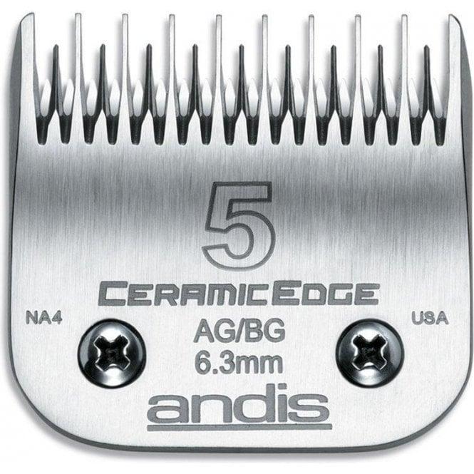 Andis #5 CERAMICEdge Clipper Blade