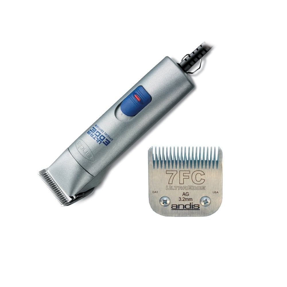 Andis AGC Super Speed Clipper with Free 7F Blade - Silver
