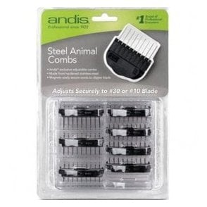 Andis Metal Attachment Combs Pack
