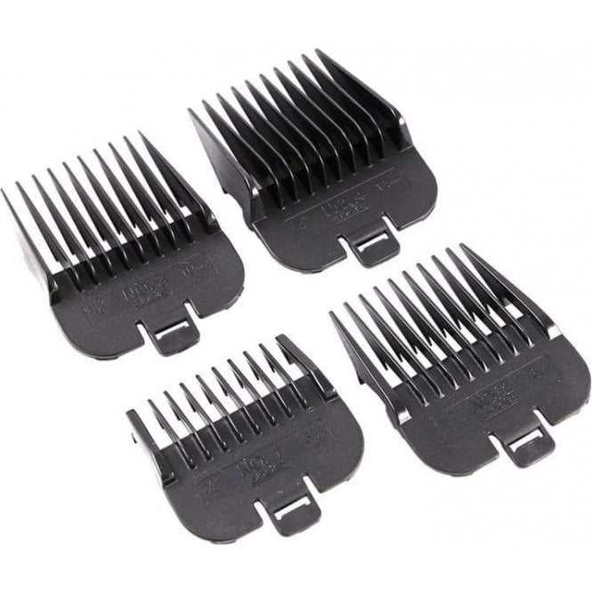 Andis Pack of Four Attachment Combs