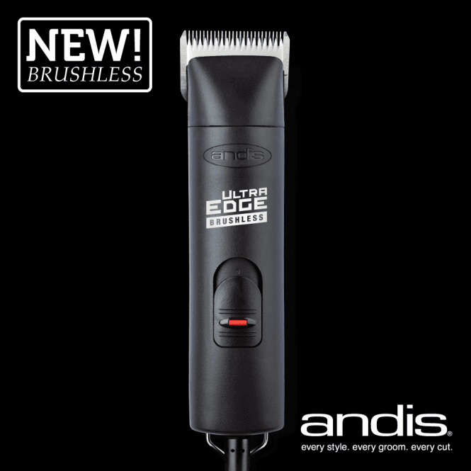 Andis UltraEdge® AGCB 2-Speed Brushless Clipper - Black - NEW