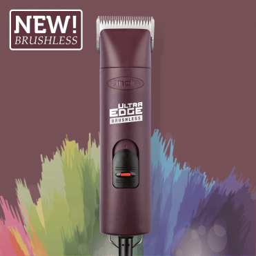 Andis UltraEdge AGCB 2-Speed Brushless Clipper – Burgundy - NEW