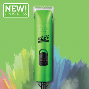 Andis UltraEdge AGCB 2-Speed Brushless Clipper – Spring Green - NEW