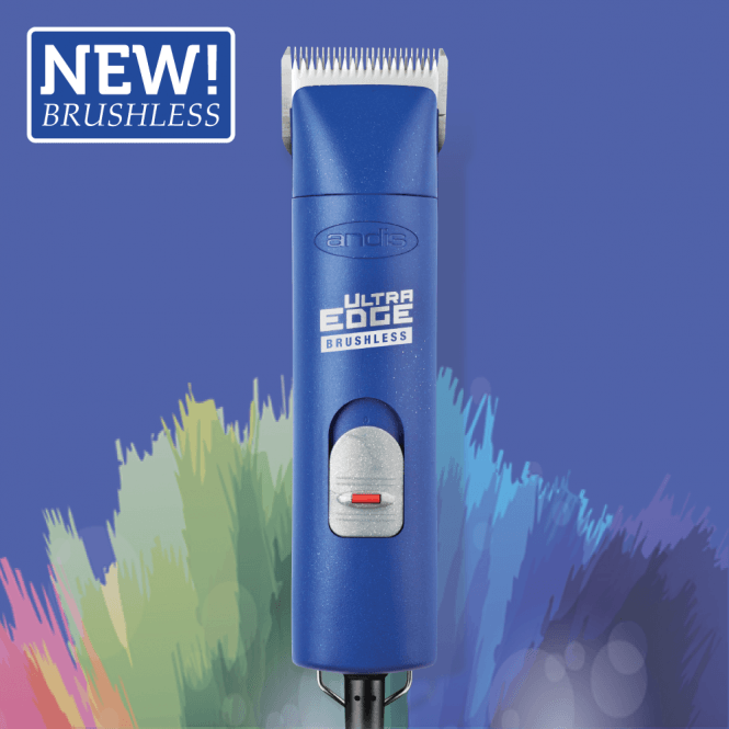 Andis UltraEdge® AGCB Super 2-Speed Brushless Clipper – Blue - NEW