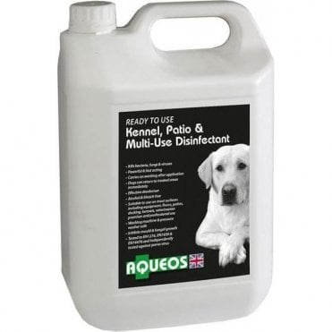 Aqueos Ready-To-Use Canine Disinfectant and Deodoriser
