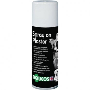 Aqueos Spray On Plaster