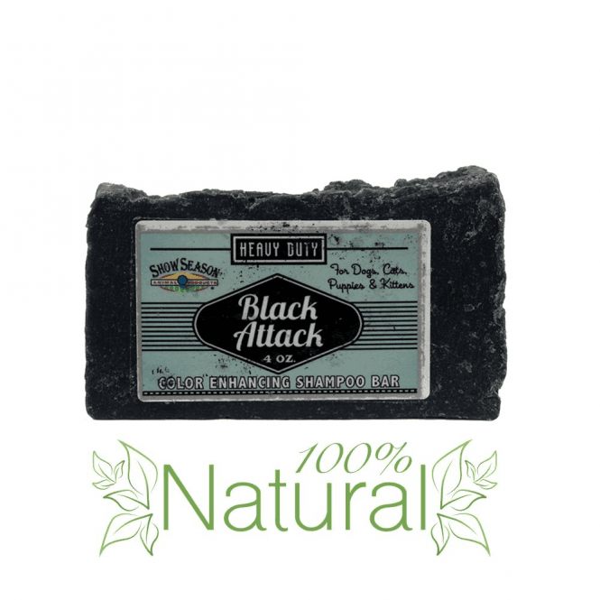 Chubbs Black Attack Shampoo Bar