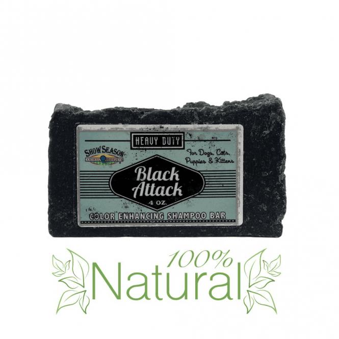 Chubbs Black Attack Shampoo Bar