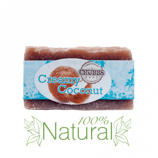 Chubbs Creamy Coconut Shampoo Bar