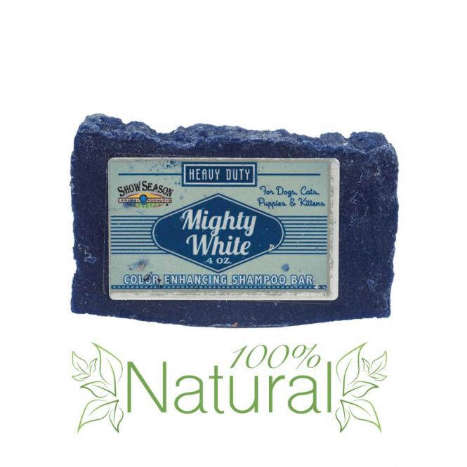 Chubbs Mighty White Shampoo Bar