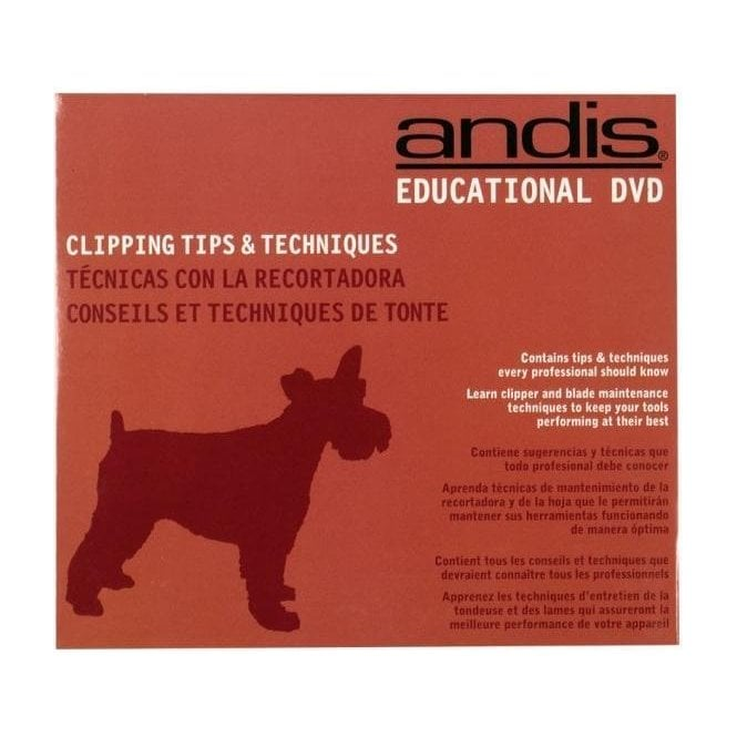 Andis Clipping Tips & Techniques DVD