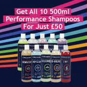 All 10 500ml Performance Shampoos For Just £50