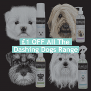£1 Off Dashing Dogs Canine Styling