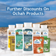 Special Prices On All Ochah Bathing!