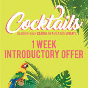 Cocktails Special Introductory Prices! Any 4 for £19,95 or reduced priced retail packs