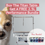 Buy The Titan Table, Get a FREE 2.5L Performance Bundle