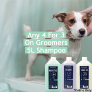 4 For 3 On 5L Groomers Brand Shampoo