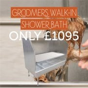 Groomers Walk-In Shower Bath Only £1095!
