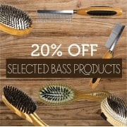 20% Off Selected Bass Brushes