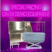 Special Pricing On Ex Demo Equipment