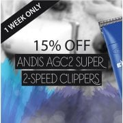 15% Off Andis AGC2 Super 2 Speed Clippers - Limited Time Offer!