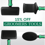 15% Off Groomers Tools